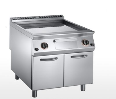Silko Gas Griddle With Open Base Cabinet 2